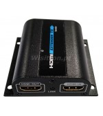 HENL-50 HDMI  Kit TX+RX extensor HDMI de Cat 6 com IR + loop
